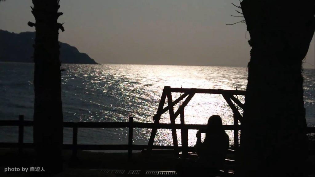 糸島市芥屋海岸の海