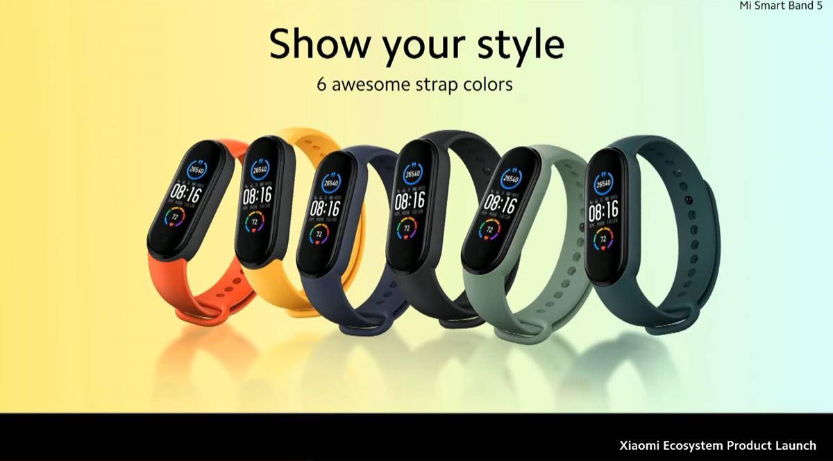 Xiaomi(シャオミ)「Mi Smart Band 5」日本語版の発売日はいつ?新機能と性能