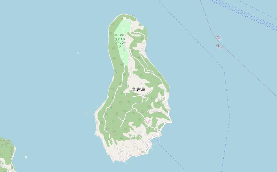 能古島海水浴場(能古島キャンプ村)の交通アクセス