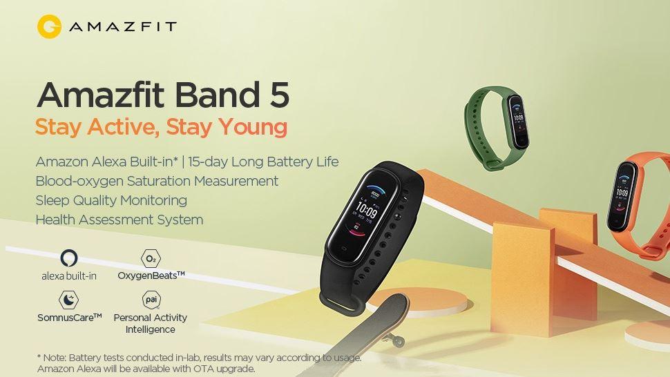Amazfit Band 5の性能スペックがやばい!日本発売日・販売価格・購入方法