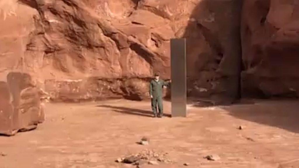 ユタ州の「謎の柱」はいつから存在していたのか?
