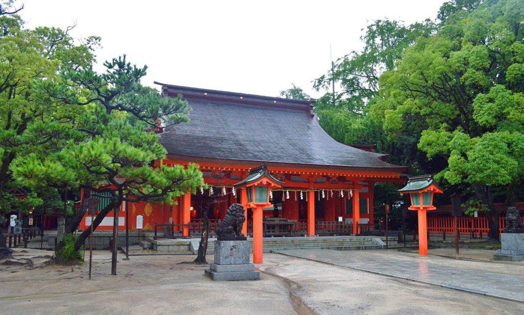 住吉神社(福岡市博多区)初詣情報2021|参拝者数 約15万人