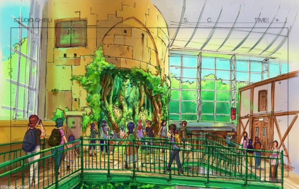ジブリパーク「ジブリの大倉庫エリア」天空の城ラピュタ
