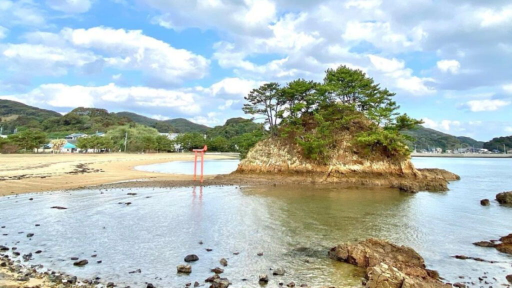 宗像大島 かんす海水浴場の特徴・魅力
